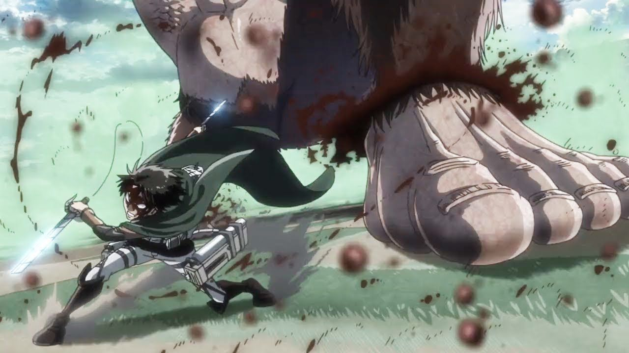Levi Vs Beast Titan Shingeki No Kyojin 2019 Ep 5 進撃の巨人5 話 2019 Youtube Attack On Titan Levi Attack On Titan Series Attack On Titan Anime