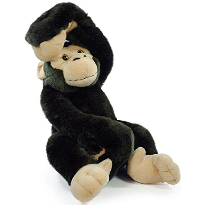 Chance The Chimpanzee 16 Inch Large Hanging Monkey Chimp Stuffed Animal Plush Ape By Ti Bear Stuffed Animal Monkey Stuffed Animal Teddy Bear Stuffed Animal [ 1500 x 1500 Pixel ]