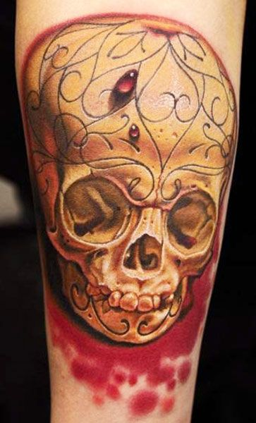 skull tattoo by nikko hurtado skull pinterest calaveras