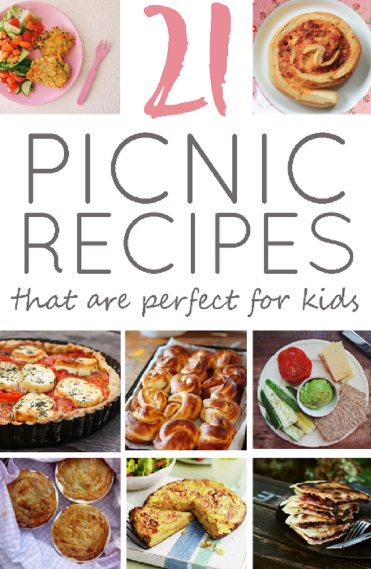 21 Recipes to Take On a Picnic With Kids | A1 - Food and Drink ...