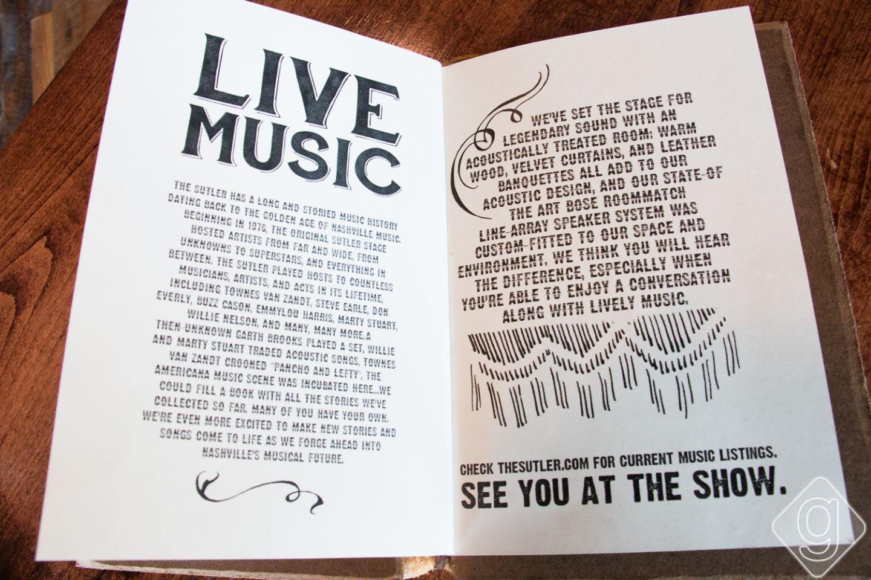 A Look Inside: The Sutler | Nashville Guru