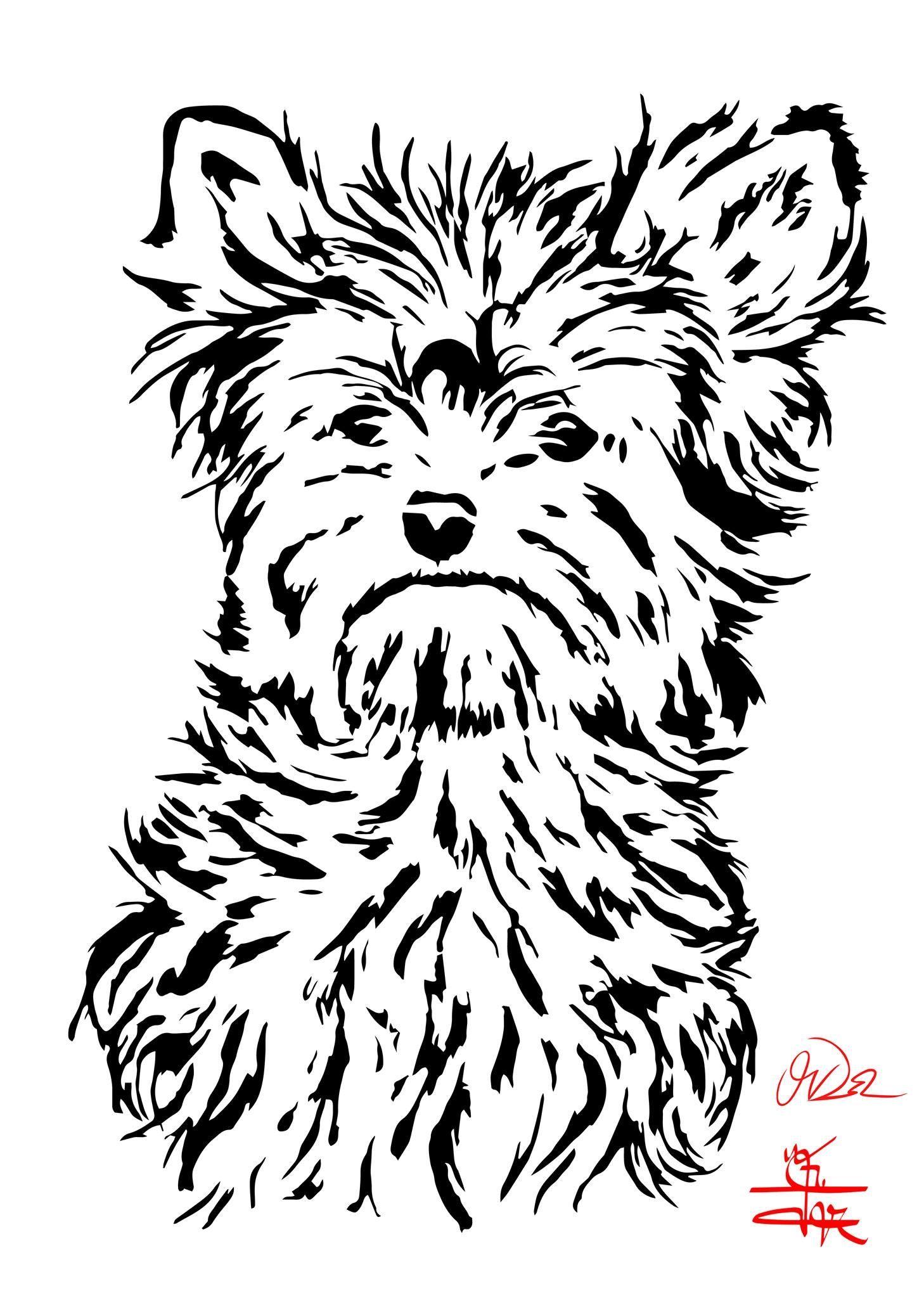 Pin By Natalya Ilina On Vyrezanie Zhivotnye Animal Stencil Dog Stencil Dog Coloring Page