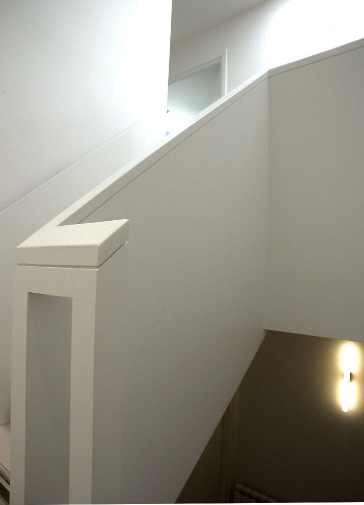 Best Timber Staircase With Solid Balustrade And Plywood Faced 400 x 300