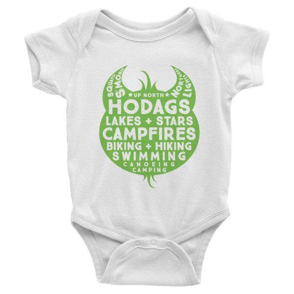 The Hodag Life Infant Short Sleeve One-piece