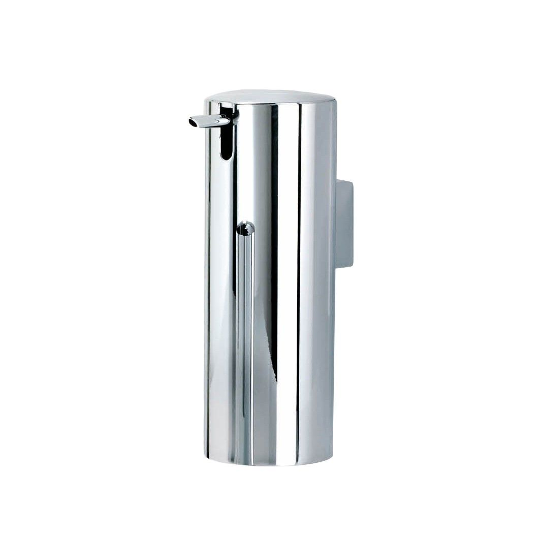 Beautiful High End Modern Cylinder Shaped Wall Mounted Soap Dispenser In Chrome Wall Mounted Soap Dispenser Soap Dispenser Soap
