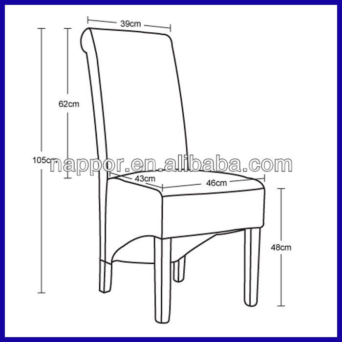 Standard Dining Room Chair Measurements Dining Chairs Dining