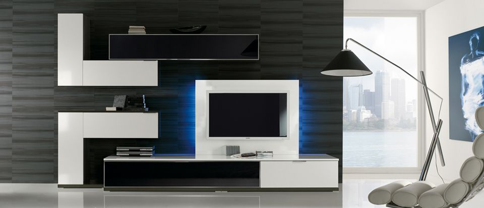 Muebles de sal n modernos decoraci n pinterest watches and salons - Muebles television modernos ...