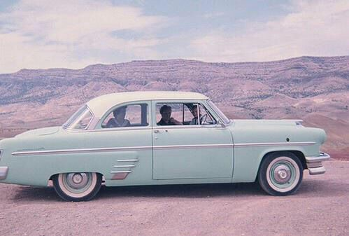 Pin by Grace Brooks on Retro | Blue car, Aesthetic ...