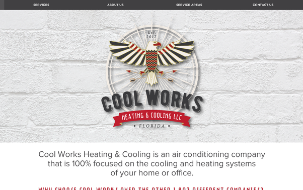 Cool Works by Starling Memory Wix website design
