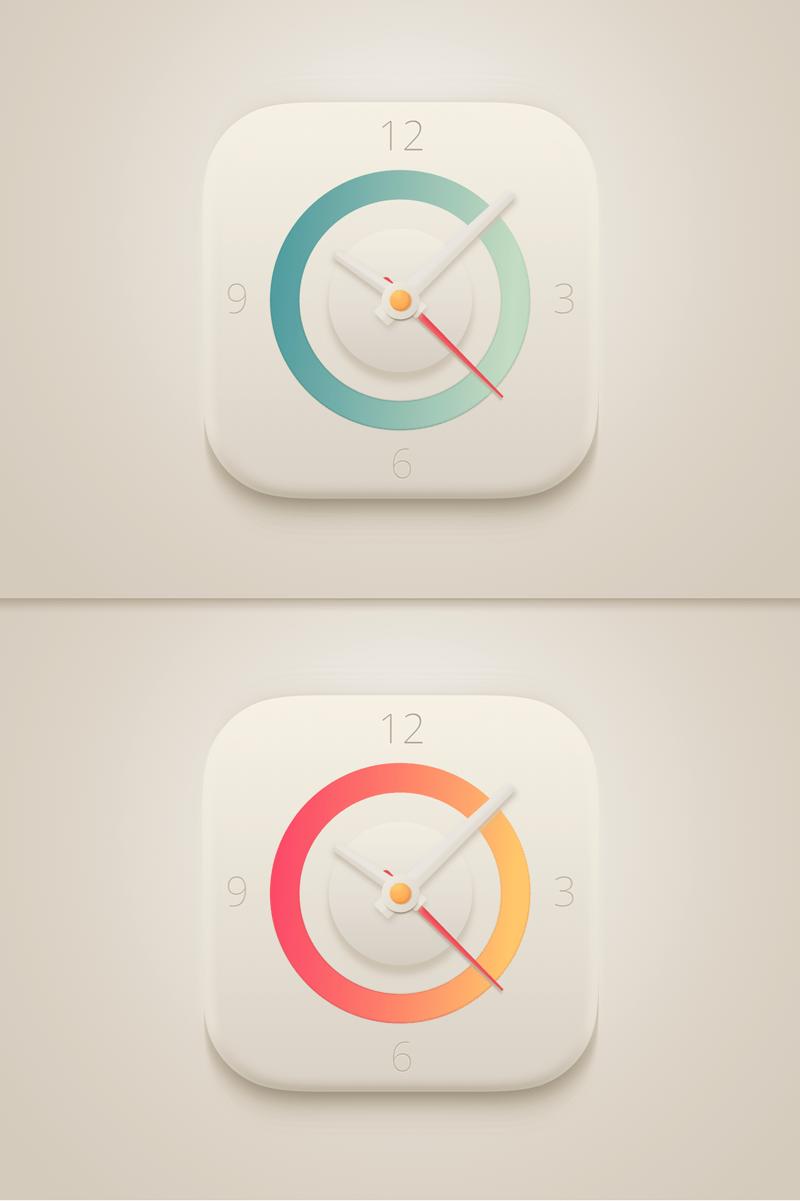 Clock App Icon Clock icon, App icon, Clock