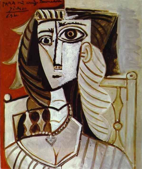 Exceptionnel Pablo Picasso - Jacqueline | picasso | Pinterest | Cubisme  PH53