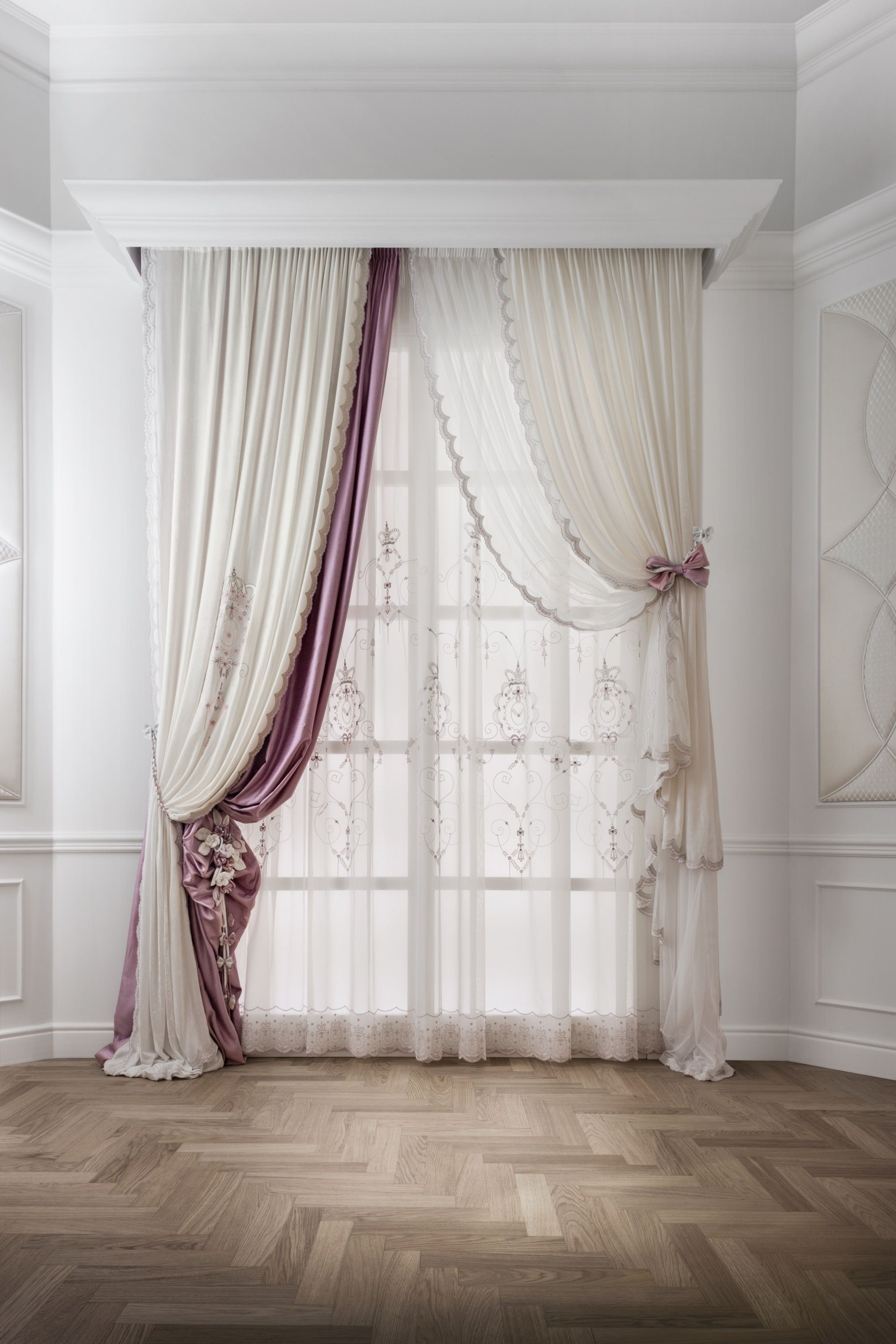 drape curtains for striped treatments bay and decor curtain interesting window cheap scarves drapes beige how tapestry to grey sears ideas covering windows arched