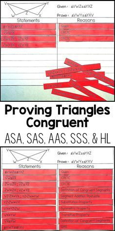 My Geometry students loved this proof activity! It was the perfect ...