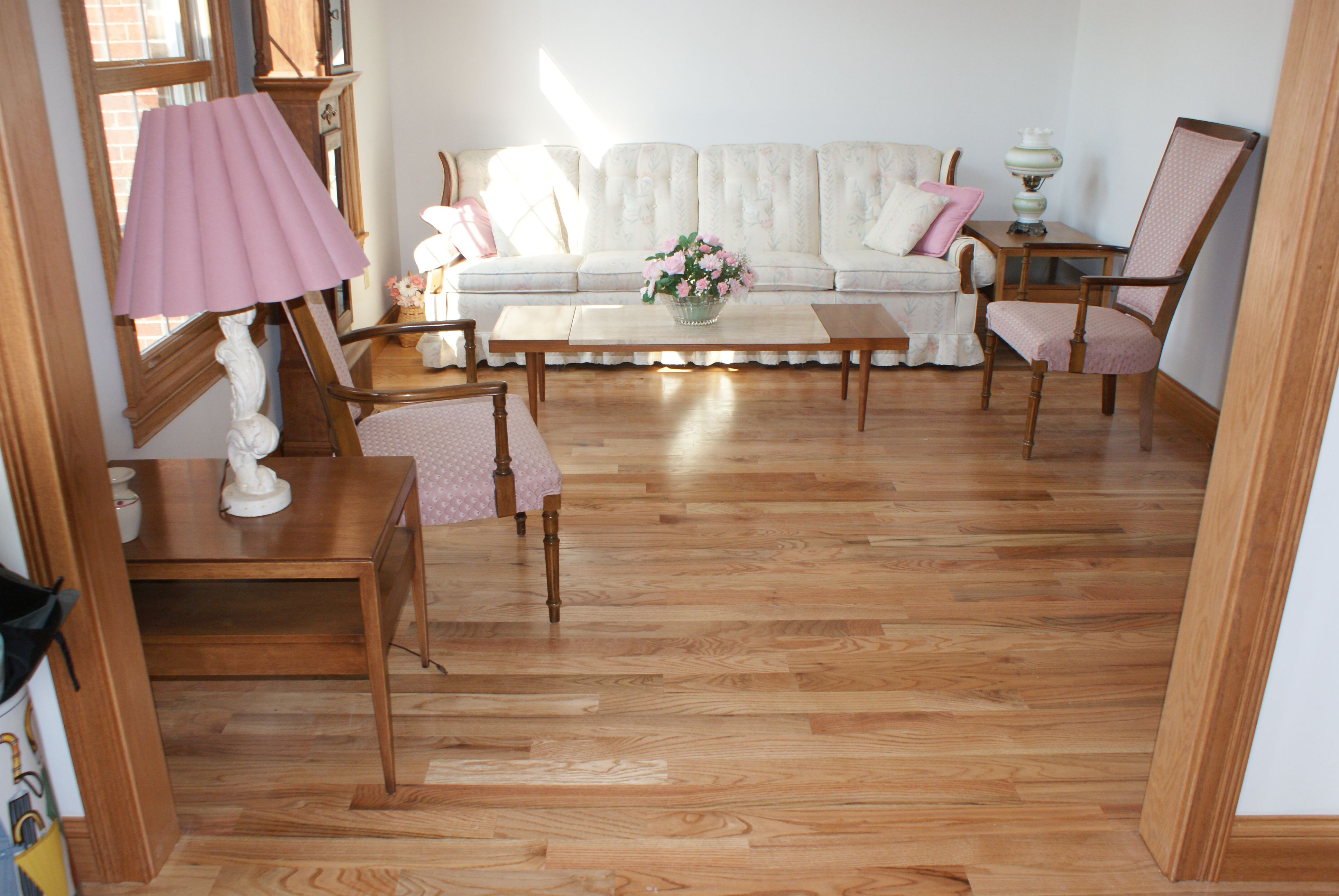 Red Oak Hardwood Flooring with Natural Finish Red oak
