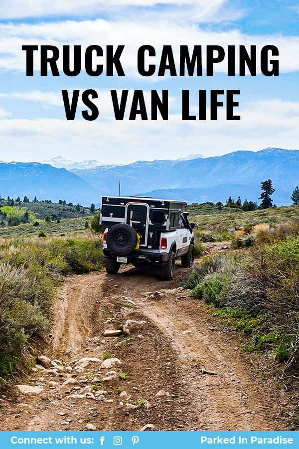Truck Camping vs Van Life with the Hawk Pop Up in 2020