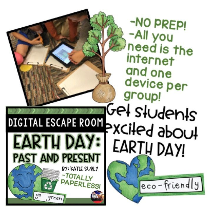 3 things to love about this Earth Day Escape Room by Katie ...