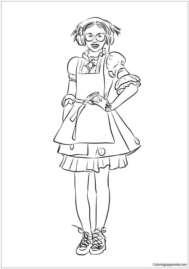 Dizzy From Descendants 26 Coloring Page http://coloringpagesonly