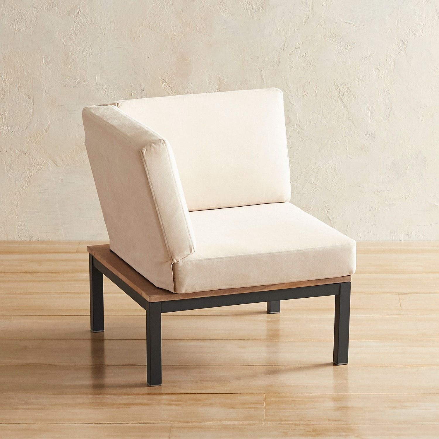 Dolton lounge corner chair with cushions with images