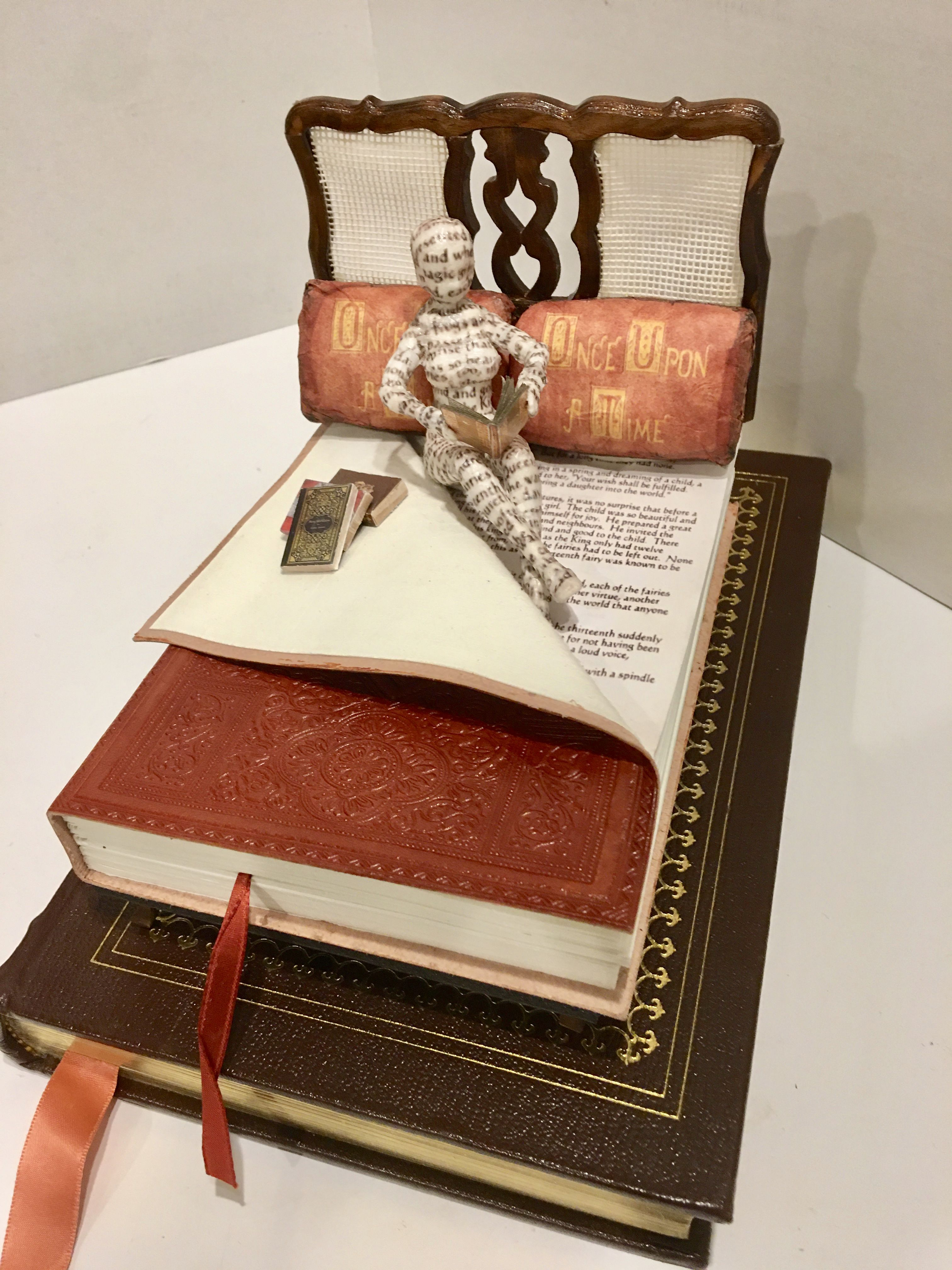 Once Upon A Good Book Altered Book Diorama By Dawn Morehead Altered Books Book Art Books