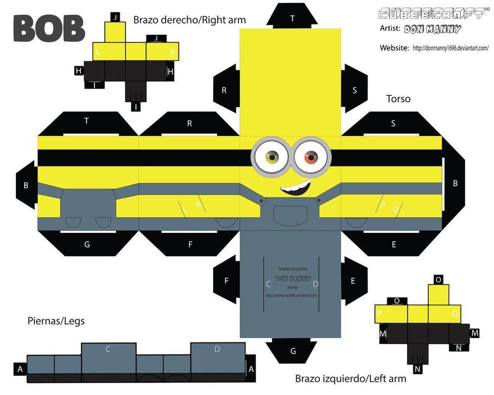 Cubeecraft Minion Bob Minions Bob Minions Minion Craft