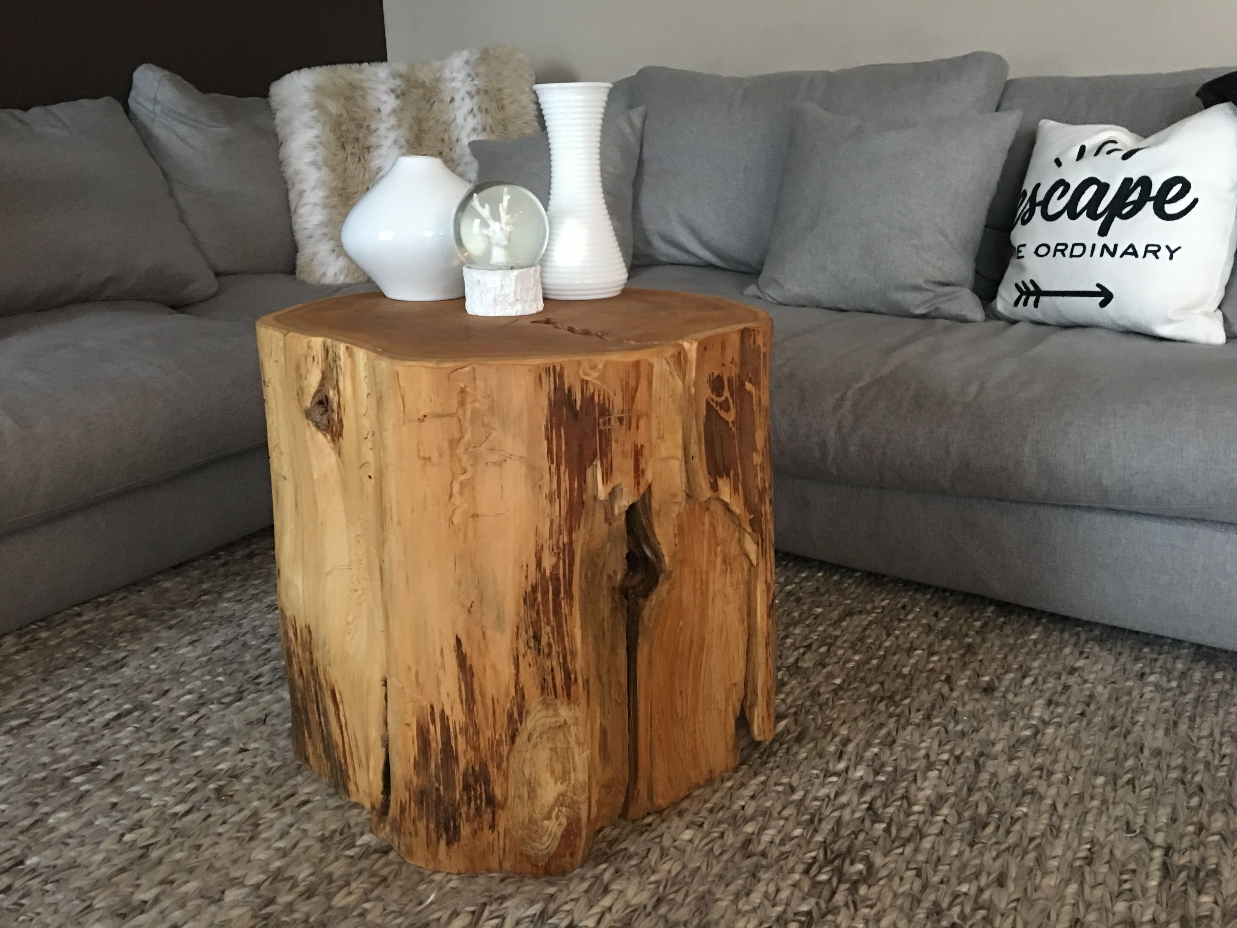 Stump Side Table Tree Trunk Coffee Table Log Coffee Table Root