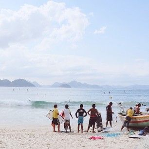 BE A TRAVELER, NOT A TOURIST @elcaminotravel Instagram photos | Praia De Copacabana - Posto 6, Rio de Janeiro, Brazil