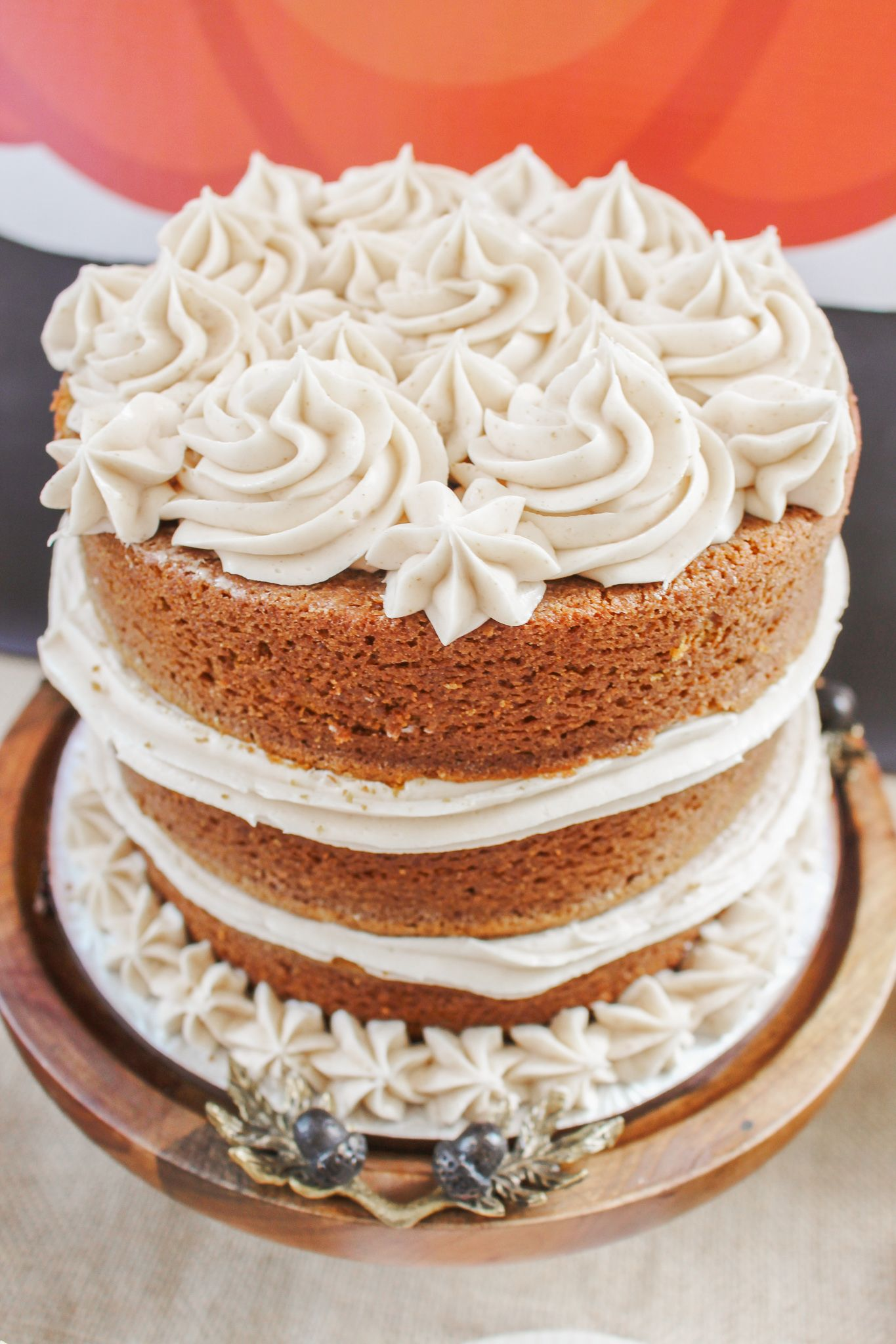 Choose Fall Flavors For The Perfect Lil Pumpkin Birthday Cake