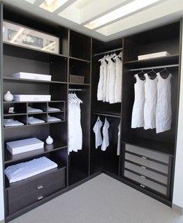 Nice L Shaped Closet Vignette In 2019 Closet Bedroom