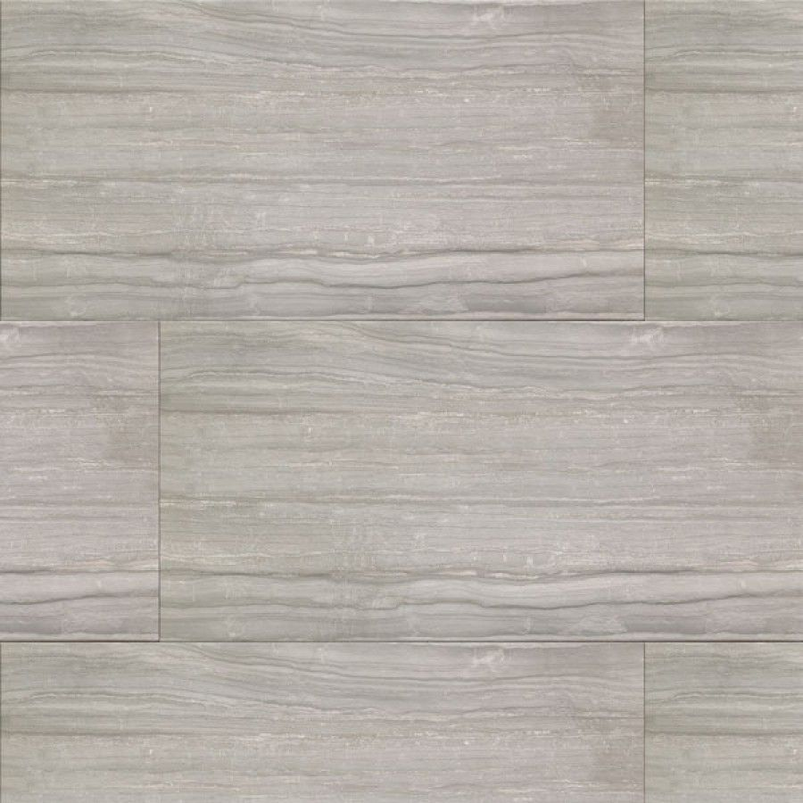 Stone Fusion Grey Matt Glazed Porcelain Tile 455x910mm