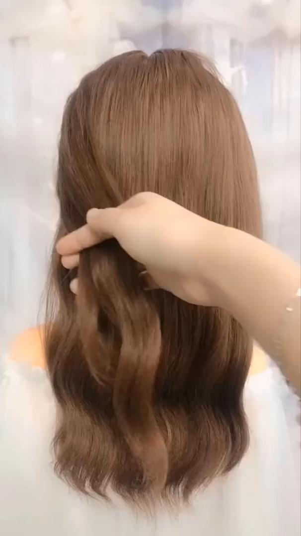Photo of Frisuren für lange Haare Videos   Zusammenstellung der Frisuren-Tutorials 2019   Teil 65