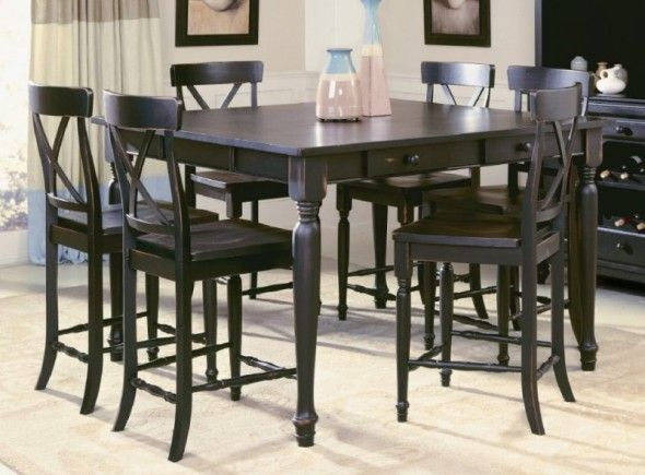 Merveilleux Simple Nice And Classic Pub Set In Traditional Style Dining Room : 9 Pretty Pub  Style Dining Room Sets | Billmyanswer.com