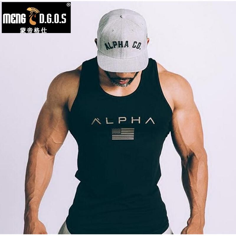 395e741f Men Summer gyms Fitness bodybuilding Hooded Tank Top fashion mens Crossfit  clothing Loose breathable sleeveless shirts Vest