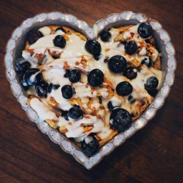Blueberry-Pecan Bread Pudding