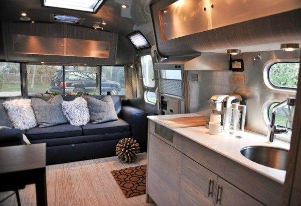 Bon Vintage Airstream | Remodel Ideas | RV Travel | Interior Design