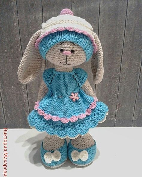 1000 схем амигуруми | VK | зайка | Crochet dolls ...