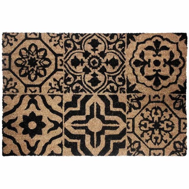 Paillasson Style Carreaux De Ciment Avec Images Paillasson Tapis Tapis Brosse