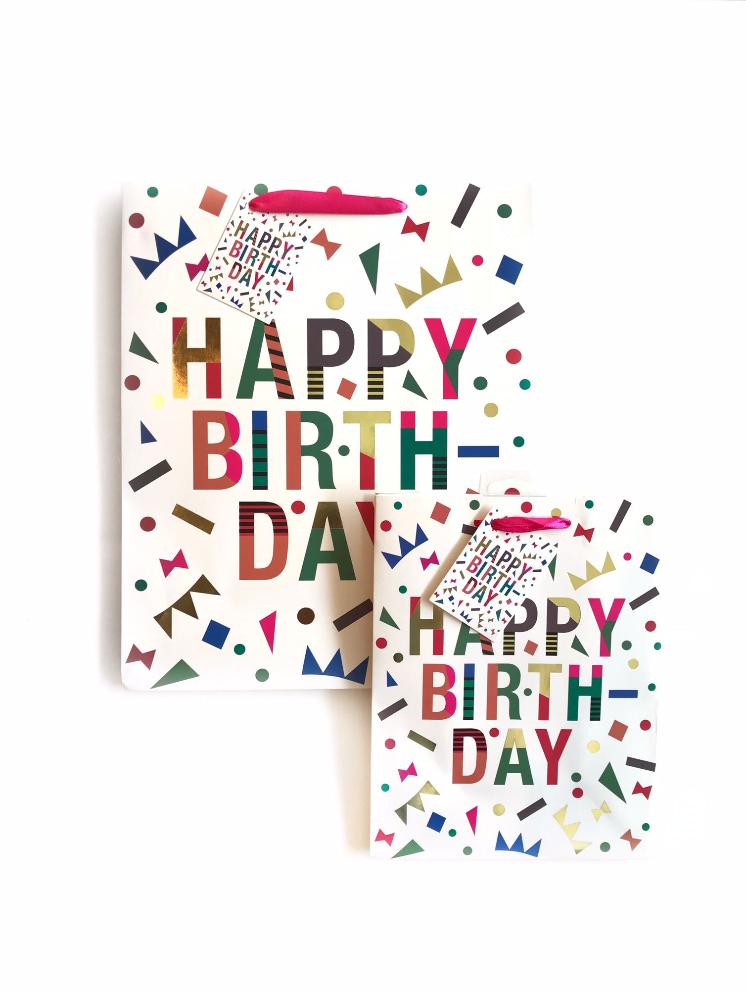 New In Store Happy Birthday Gift Bags