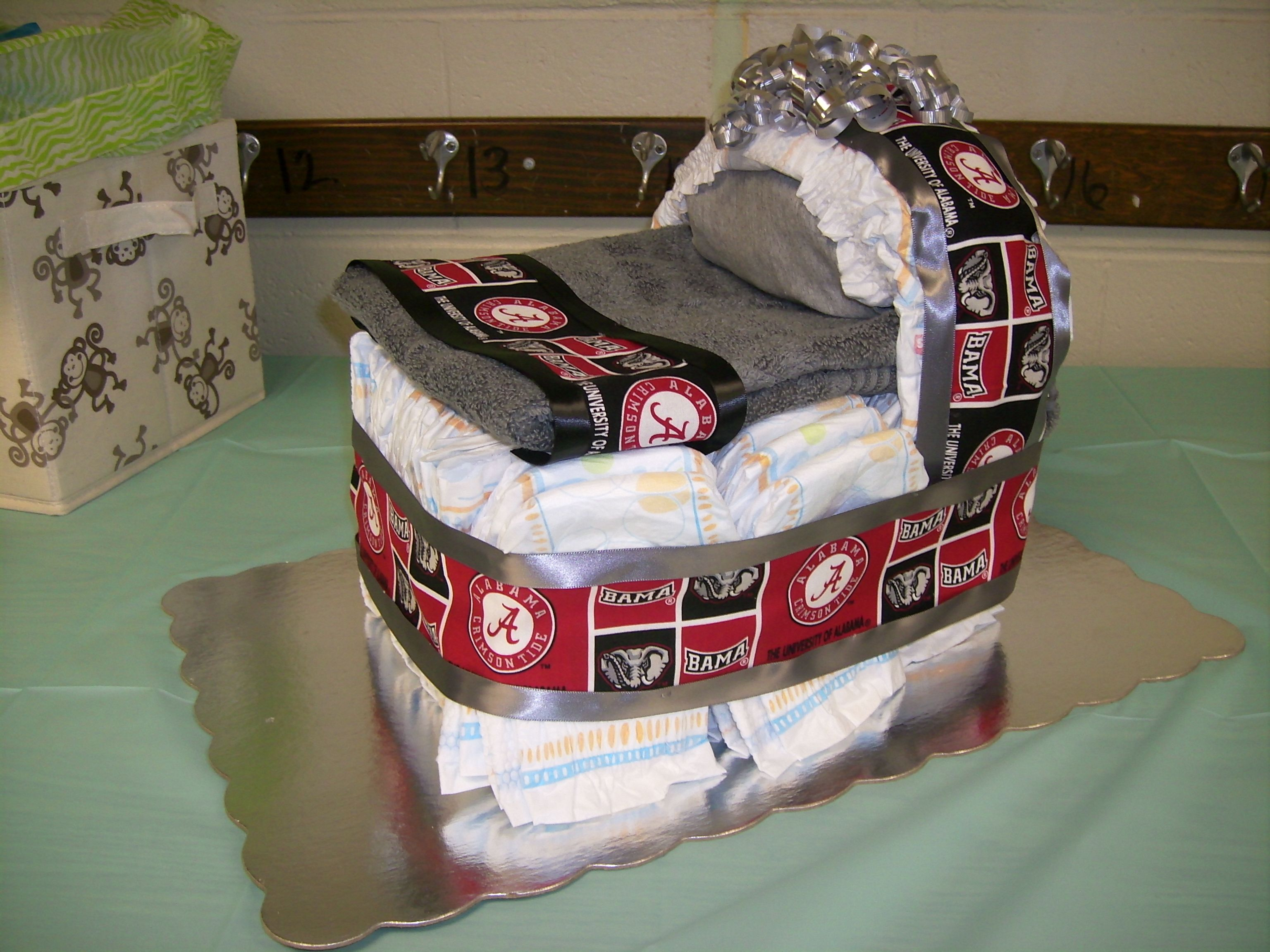 Alabama Bassinet Diaper Cake