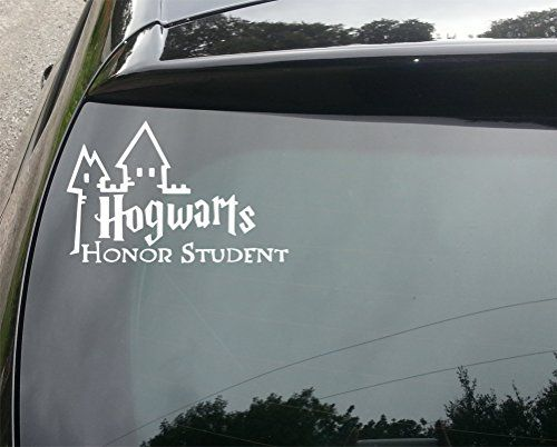 Harry potter hogwarts student funny car bumper vinyl decal sticker 210mm devon decals http