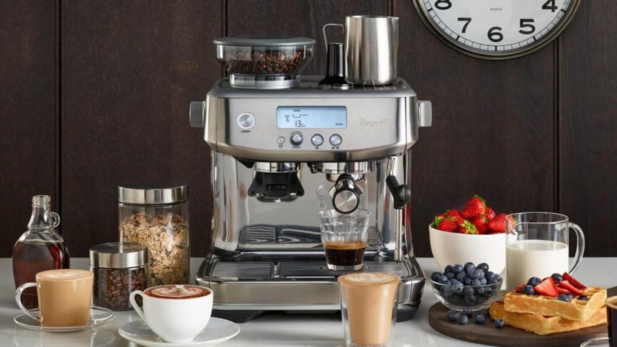 Breville The Barista Pro Espresso Machine Gives You Barista
