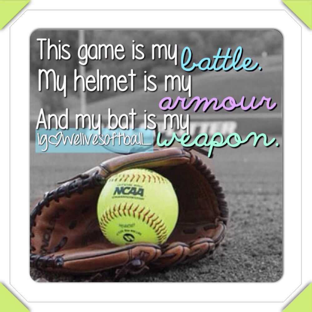 Baseball Love Quotes 17 Best Images About Softball On Pinterest  Sport Quotes Soccer