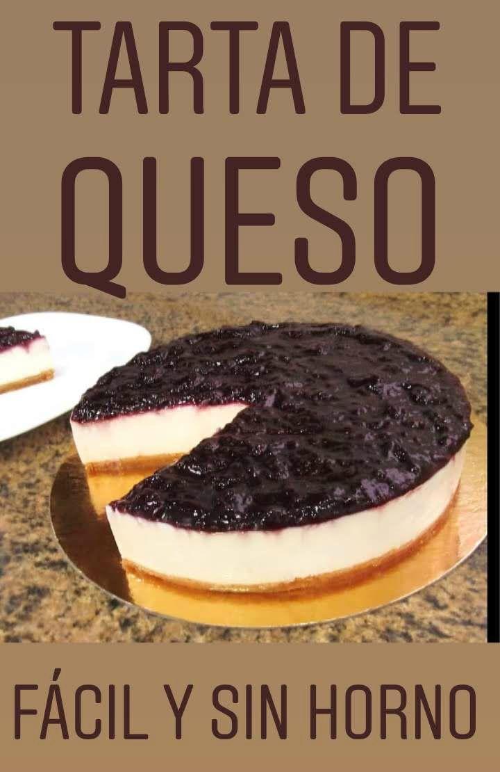 Tarta de queso philadelphia ¡Fácil y sin horno!