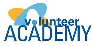 Logo voor de Volunteer Academy – Voor de gemeente Utrecht, de Vrijwilligerscentrale en het UAF een project ontwikkeld en uitgevoerd om hoog opgeleide vluchtelingen te koppelen aan besturen van vrijwilligersorganisaties.