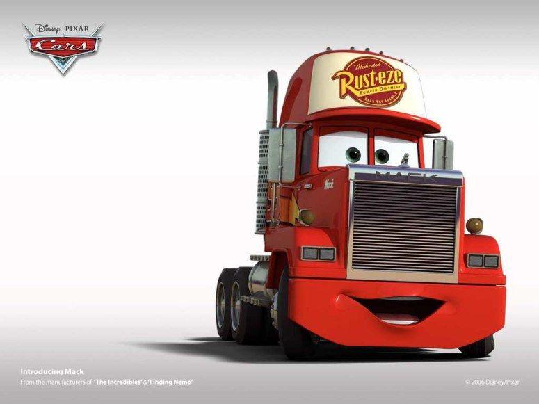 Disney Cars Mack Cars Movie Disney Cars Pixar Cars