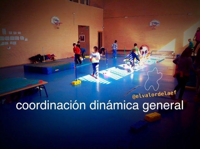 Circuito General : Circuito de coordinación dinámica general juegos