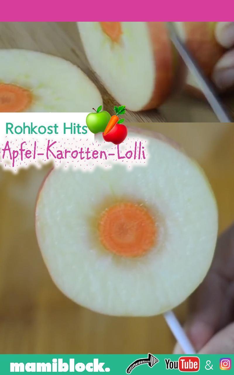 Rohkost Hit Apfel Karotten Lolli Gallery