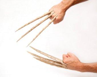 Wolverine Claw Gloves Hands Free Claws X Men Etsy Wolverine Claws Wolverine Bone Claws Wolverine