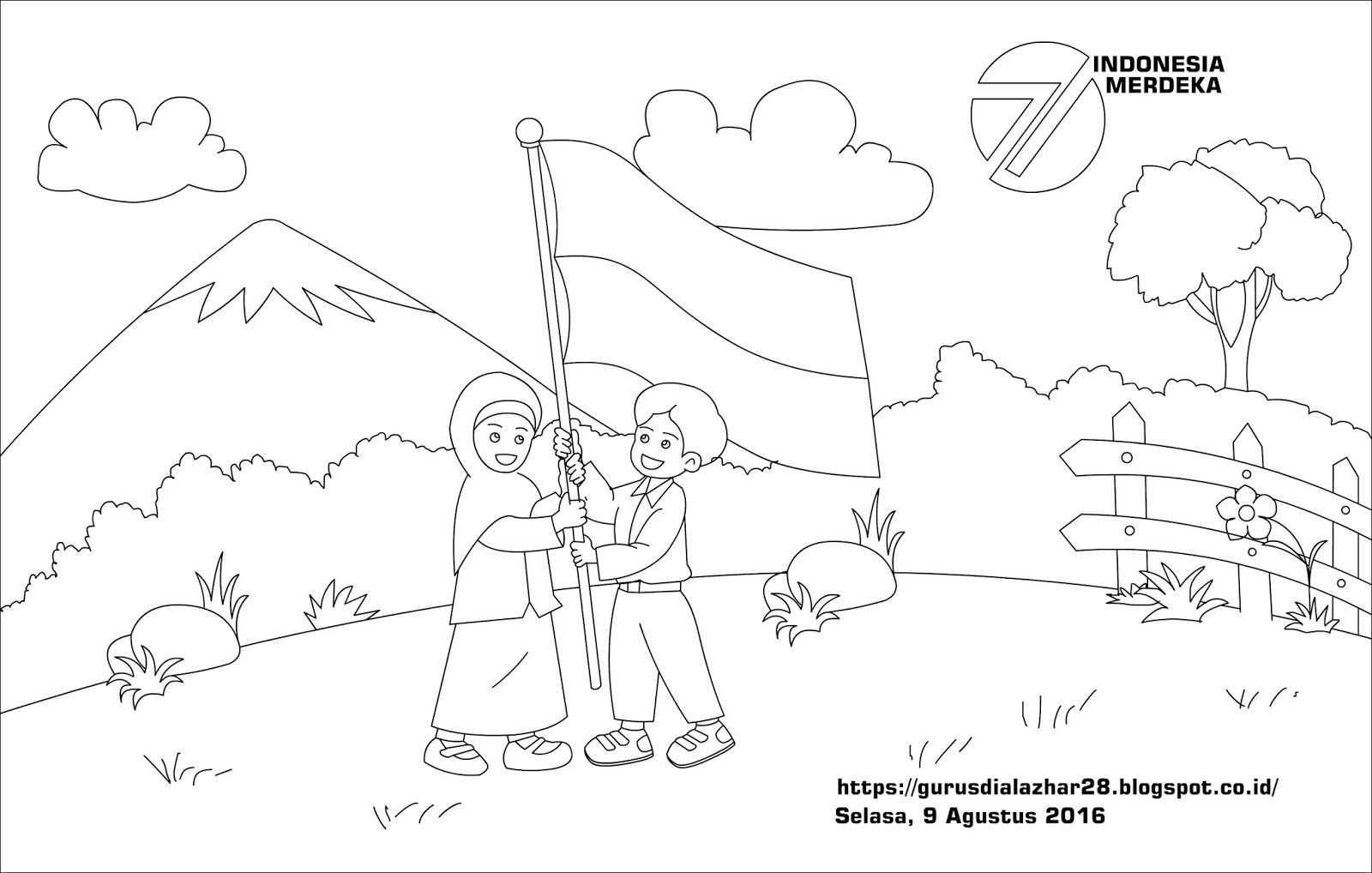 Gambar Kartun Pahlawan Kemerdekaan