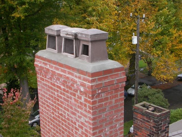 Concrete Chimney Caps I Like These Because I Would