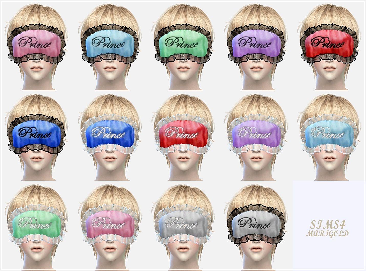 Marigold : Male sleep eye mask.